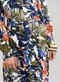 People By Fabrika Gömlek Elbise Renkli